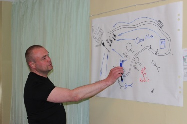 Training on civic diplomacy for indigenous activists in Segezha