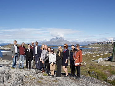 Young Karelia visited indigenous partners in Greenland